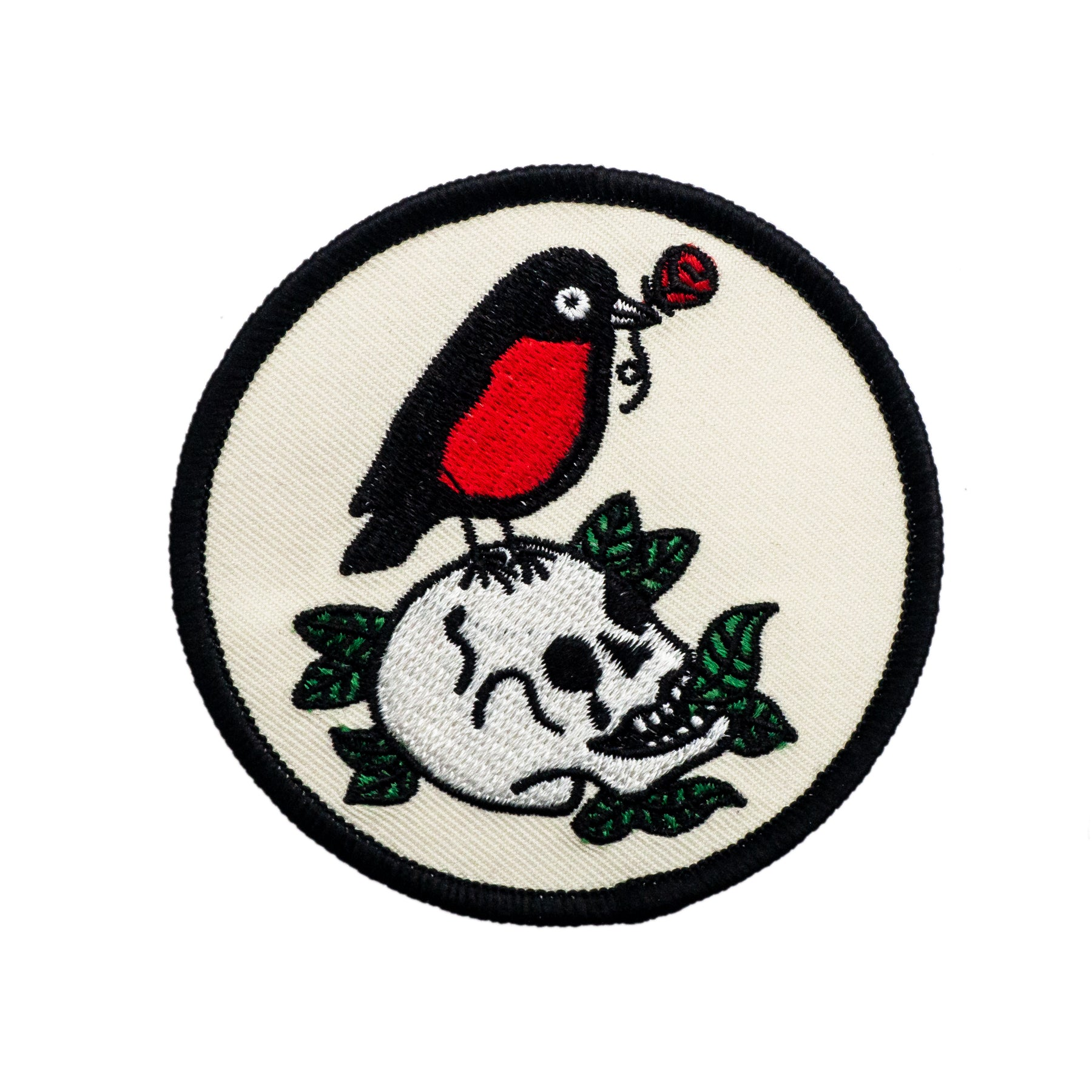 Red Robin and Skull Patch