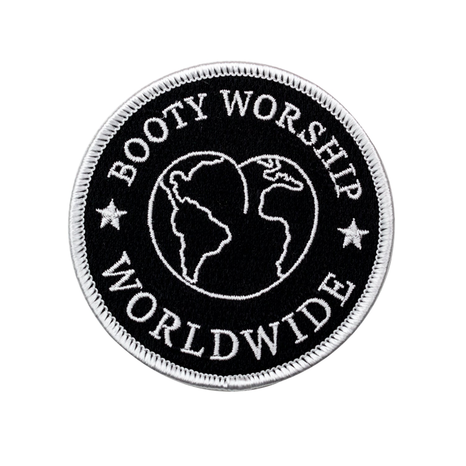 Booty Worship Worldwide Club Patch