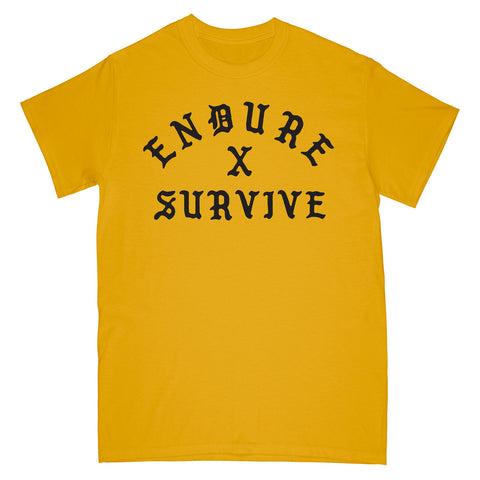 Endure x Survive T-Shirt Gold