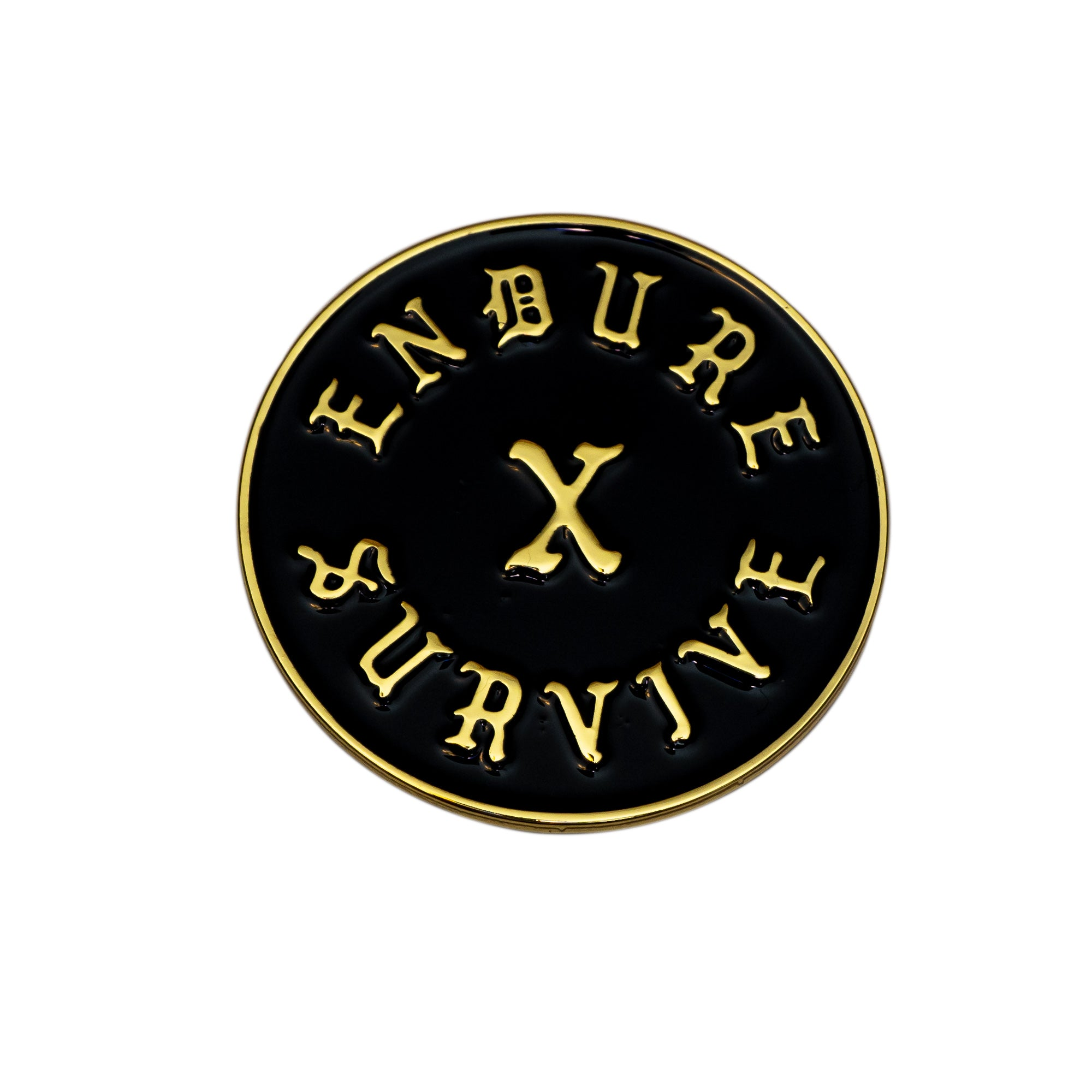 Endure X Survive Pin