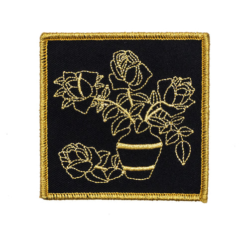 Harder To Love Flowers Patch