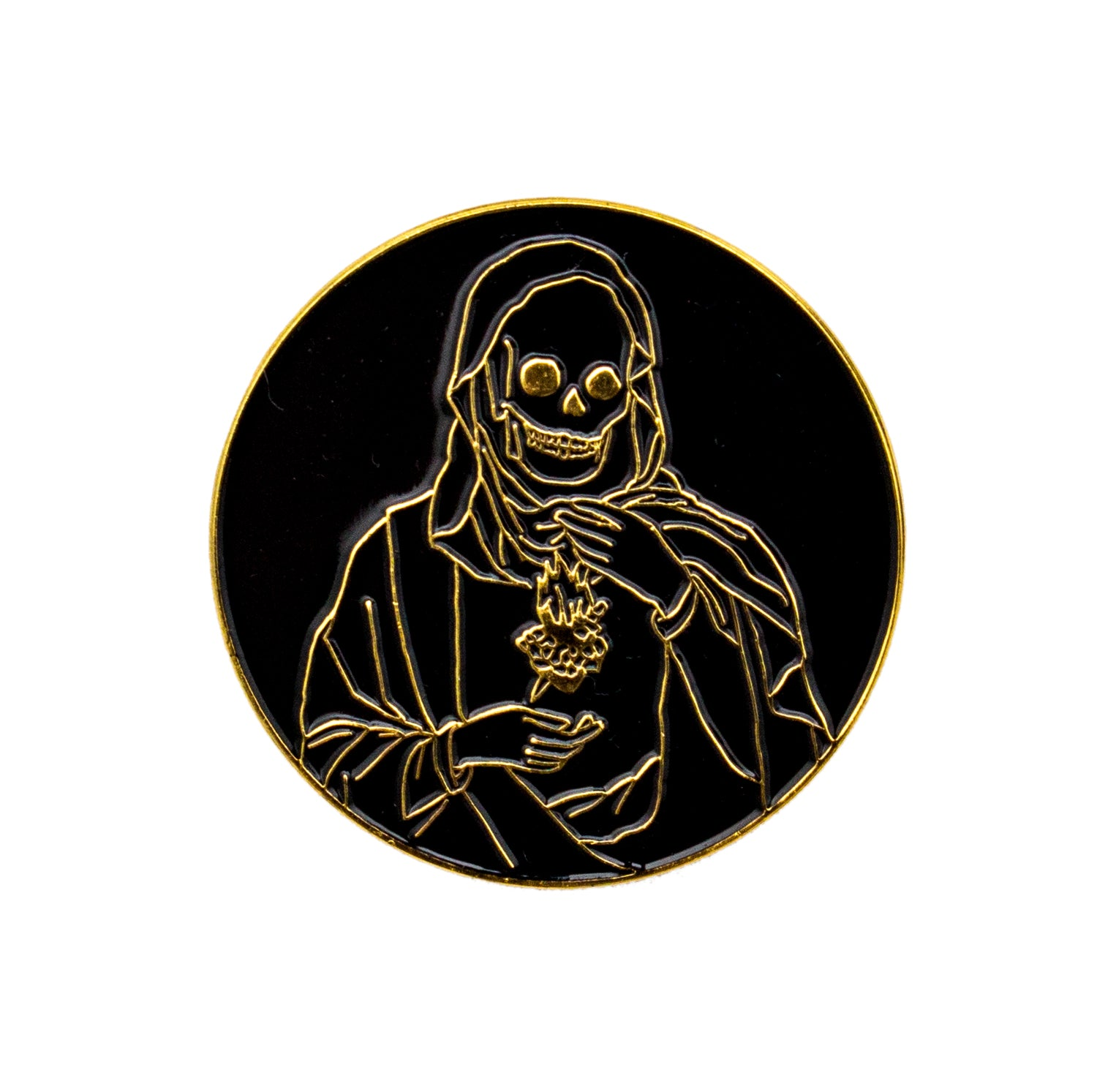 Holy Reaper Sacred Heart Pin