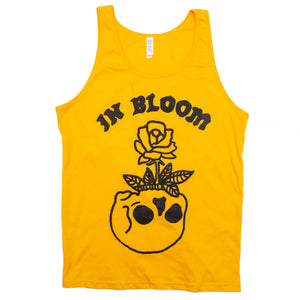 In Bloom Gold Tank Top