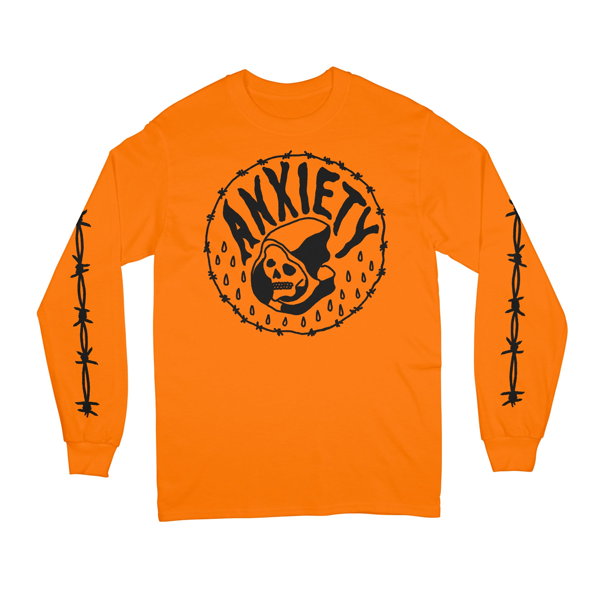 Anxiety Long Sleeve T-Shirt