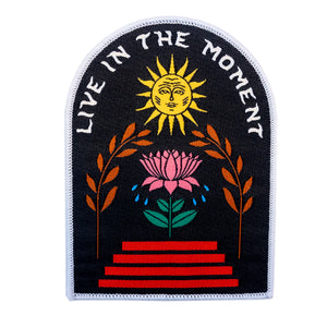 Live In The Moment Patch