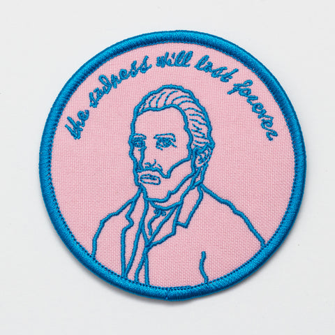 The Sadness Will Last Forever Van Gogh Patch