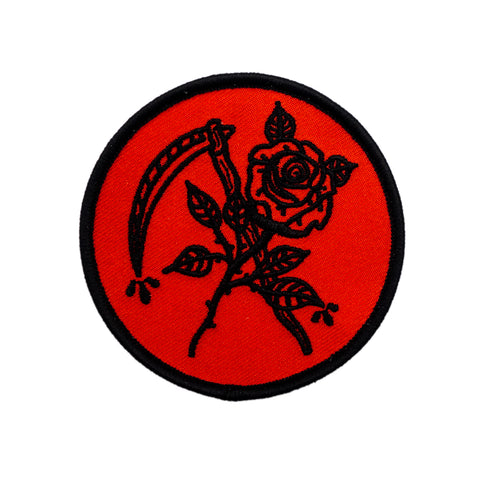 Scythe and Rose Patch