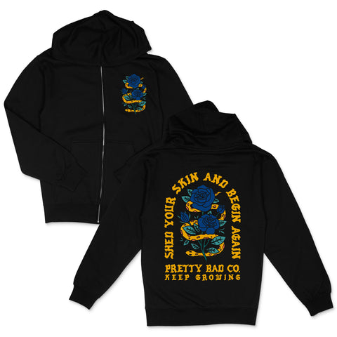 Shed Your Skin 2.0 Zip up Hoody