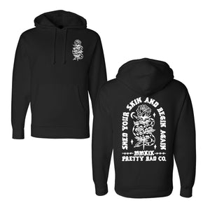 Shed Your Skin Pullover Hooded Sweatshirt