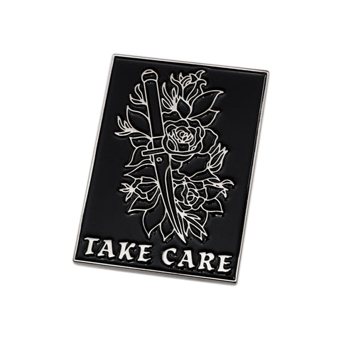 Take Care Pin