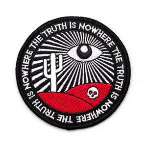 The Truth Is Nowhere Patch. All Seeing Eye Patch.