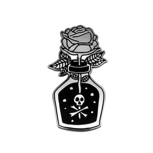 Toxic Rose Pin