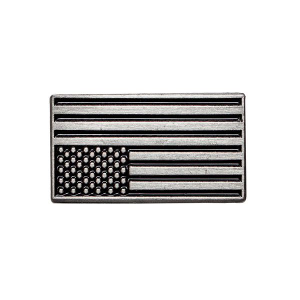 Upside Down American Flag Pin