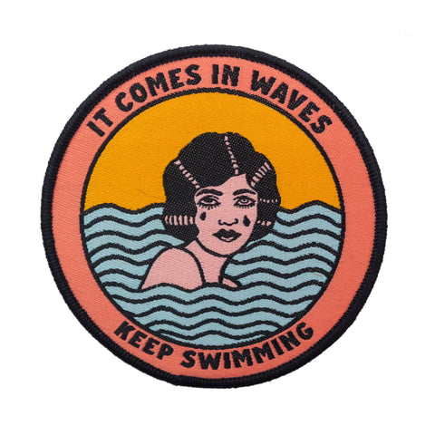 It Comes In Waves Patch