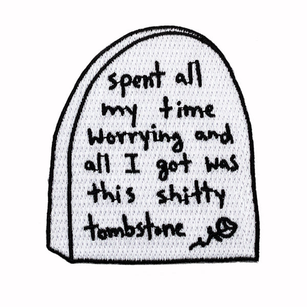 Worry Tombstone Patch
