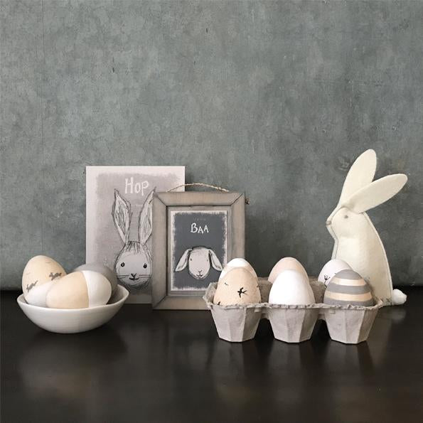 Corinne Lapierre wooden eggs - Easter
