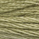 Corinne Lapierre DMC thread skein Almond Green 3013