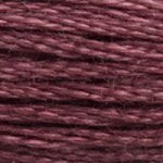 Corinne Lapierre DMC thread skein Antique Mauve 3726