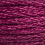 Corinne Lapierre DMC thread skein Dark Raspberry 3803