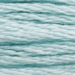 Corinne Lapierre DMC thread skein Light Turquoise 3811