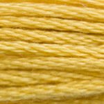 Corinne Lapierre DMC thread skein Golden Yellow 3821