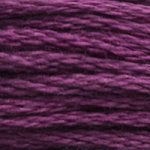 Corinne Lapierre DMC thread skein Dark Grape 3834