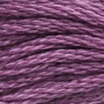 Corinne Lapierre DMC thread skein Light Grape 3835