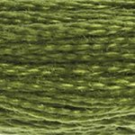 Corinne Lapierre DMC thread skein Avocado 469