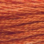 Corinne Lapierre DMC thread skein Copper 921