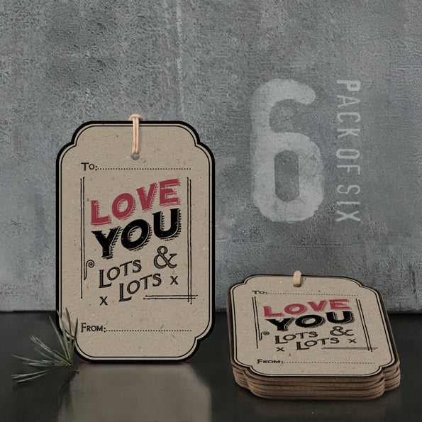 Corinne Lapierre 'Love You Lots' Gift Tag