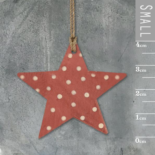 Corinne Lapierre Dotty Red Star Tag