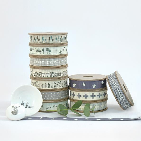 Corinne Lapierre Patterned Ribbons by East of India