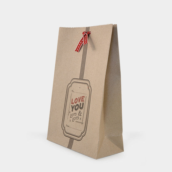 Corinne Lapierre 'Love you Lots and Lots' Gift Bag by East of India