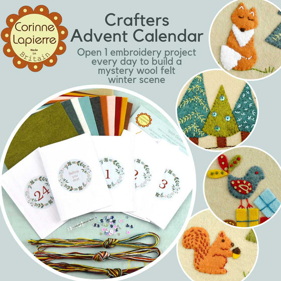 Corinne Lapierre Crafter's Advent Calendar