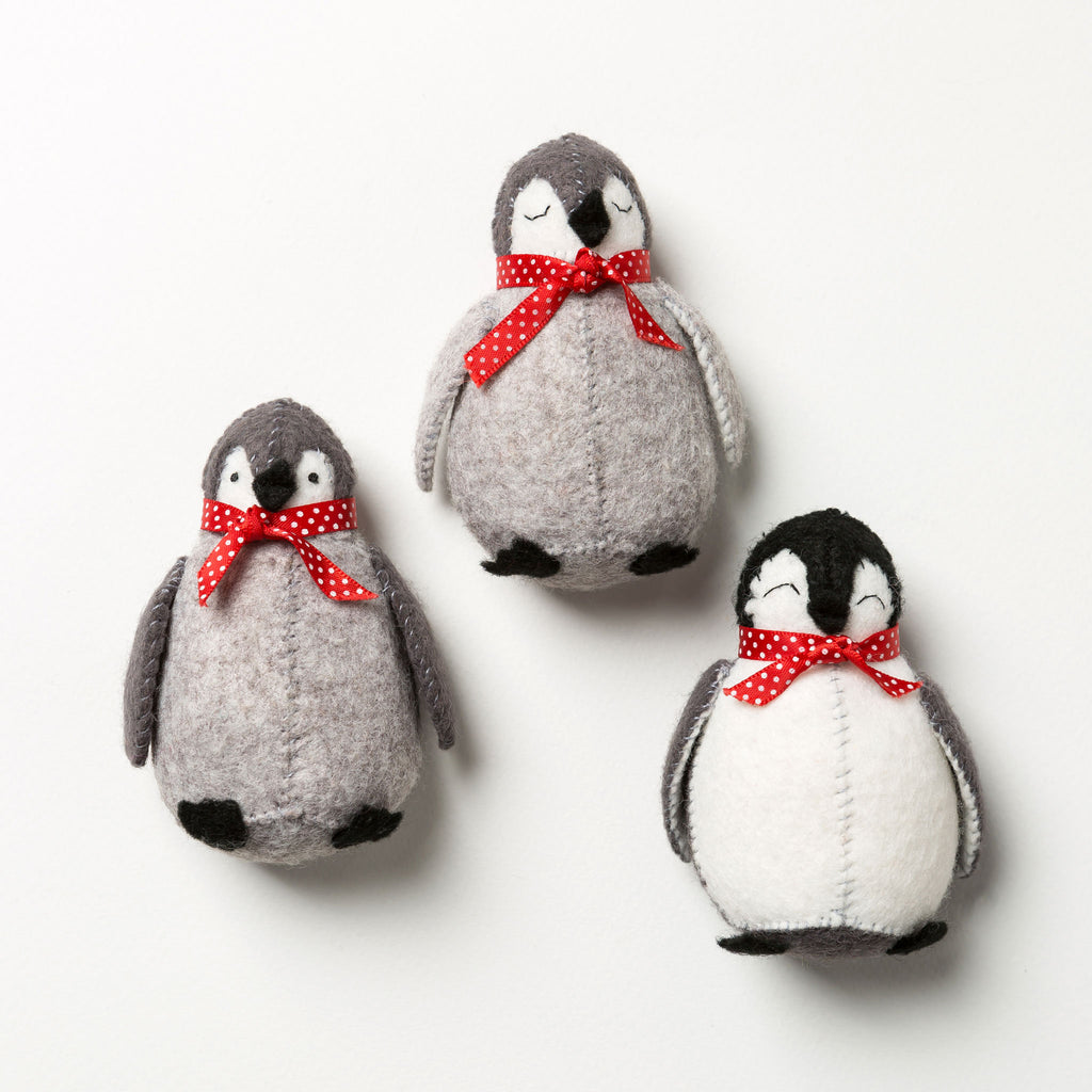 Corinne Lapierre Felt Baby Penguins Craft Kit
