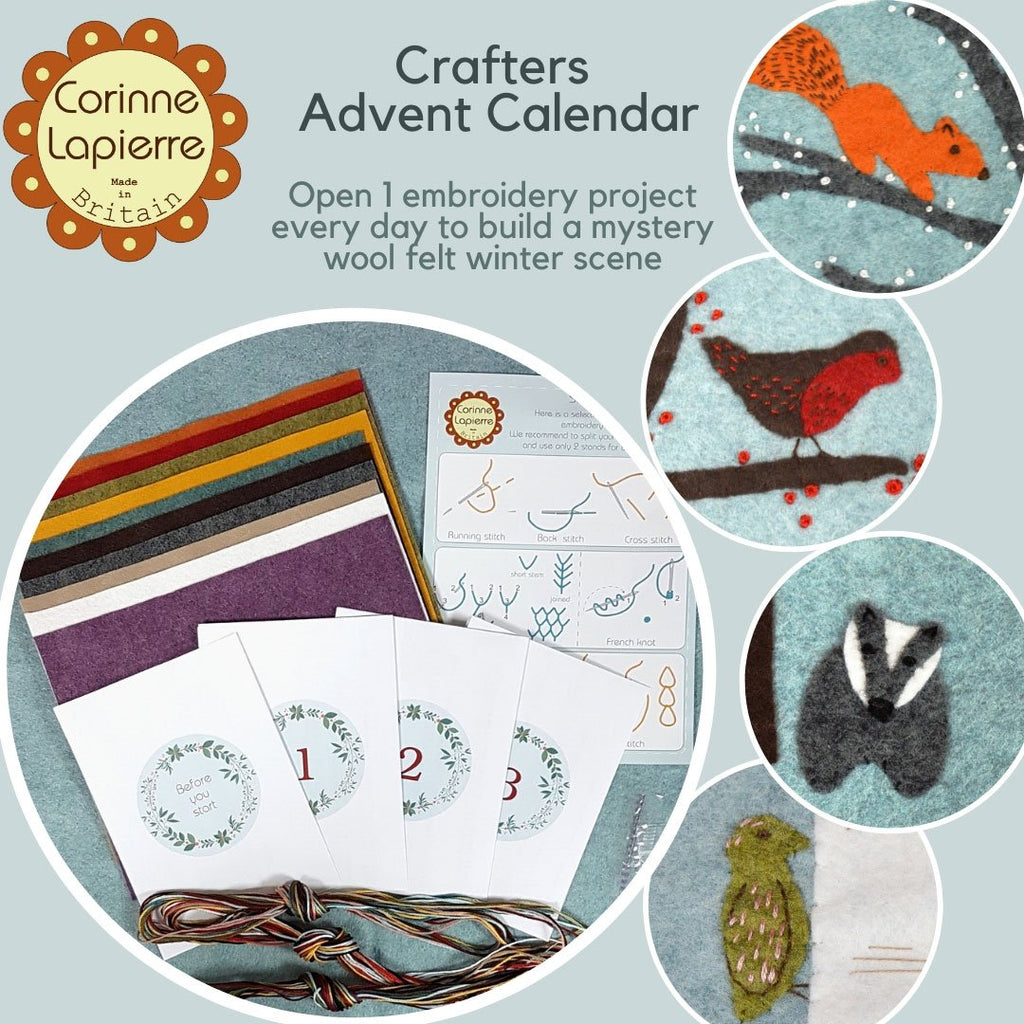Corinne Lapierre 2019 Crafter's Advent Calendar