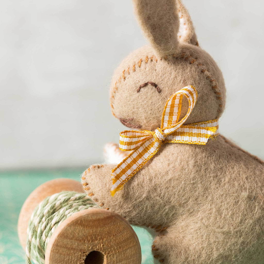 Corinne Lapierre Felt Bunnies Craft Kit Bunny Detail