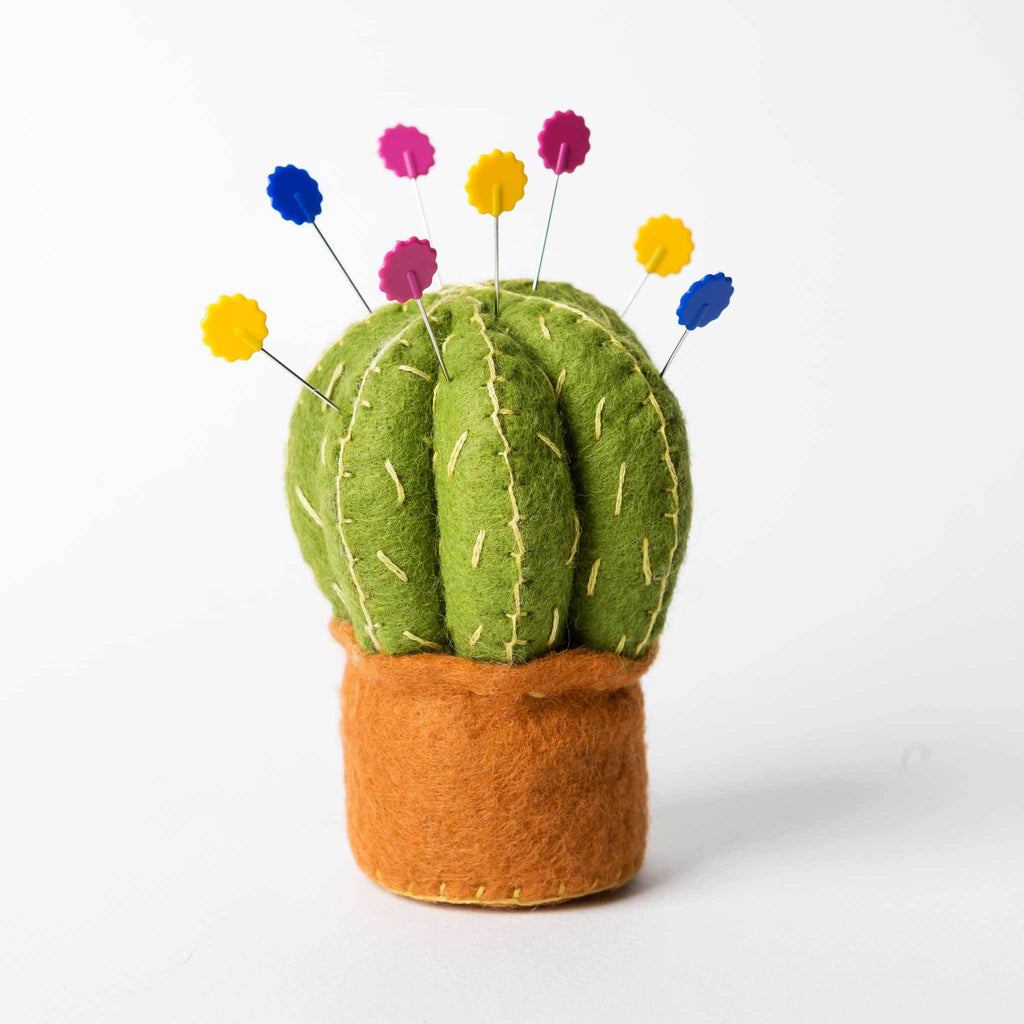 Corinne Lapierre Cactus Pincushion Felt Craft Kit
