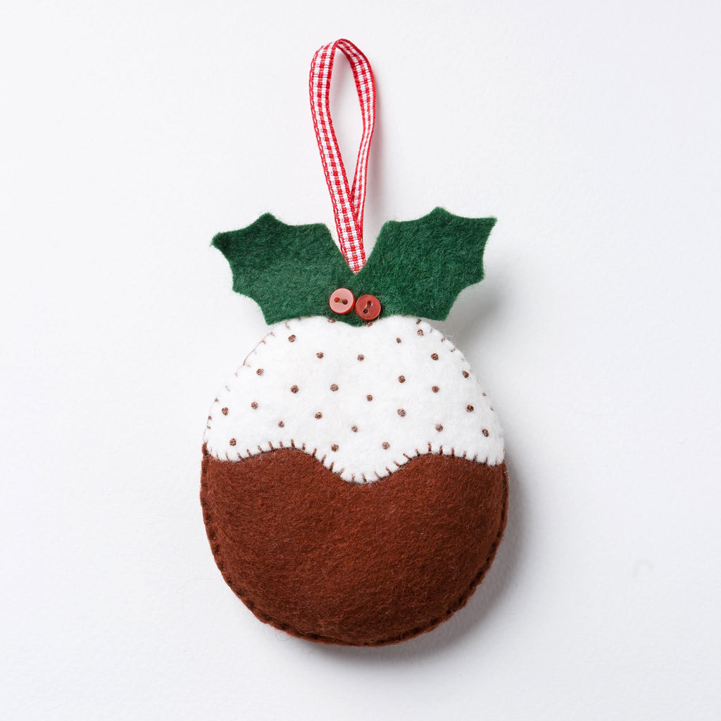 Corinne Lapierre Christmas Pudding Felt Craft Kit