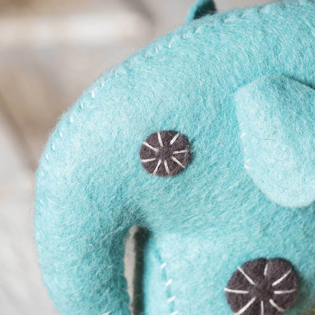 Corinne Lapierre Felt Elephant Craft Kit Detail