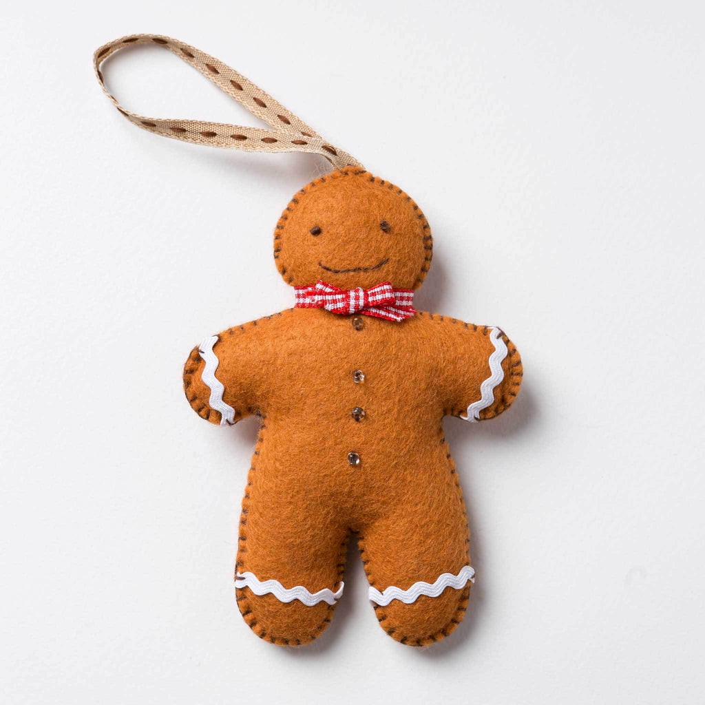 Corinne Lapierre Gingerbread Man Felt Craft Kit