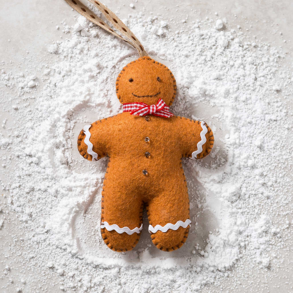 Corinne Lapierre Gingerbread Man Christmas Card