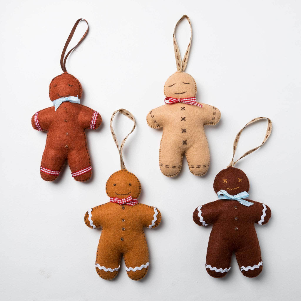 Corinne Lapierre Gingerbread Men Craft Kit