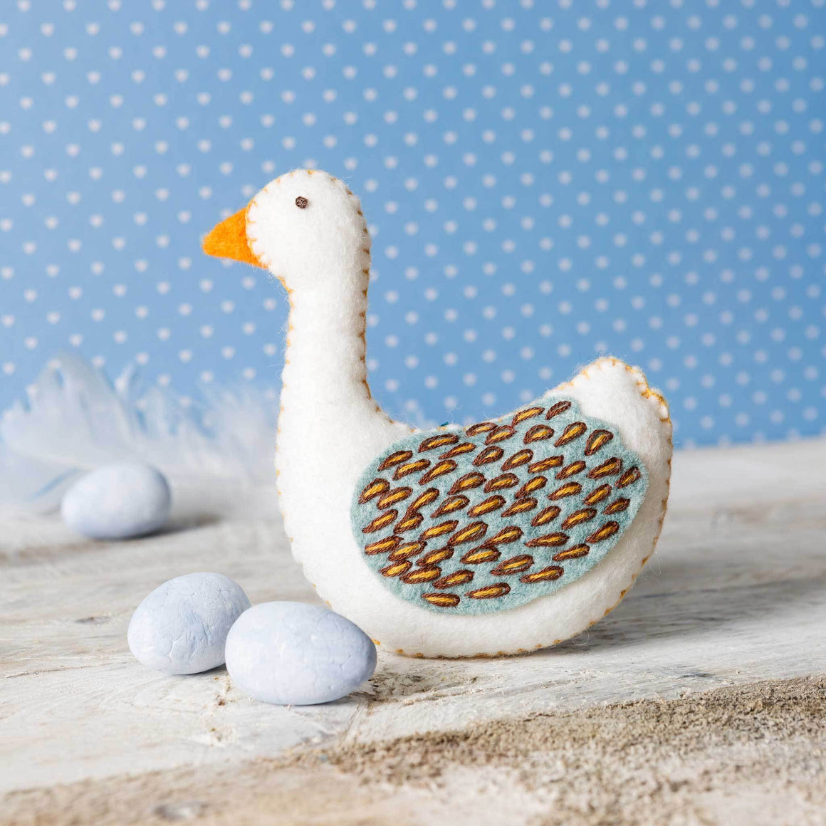 Corinne Lapierre Goose Felt Craft Kit