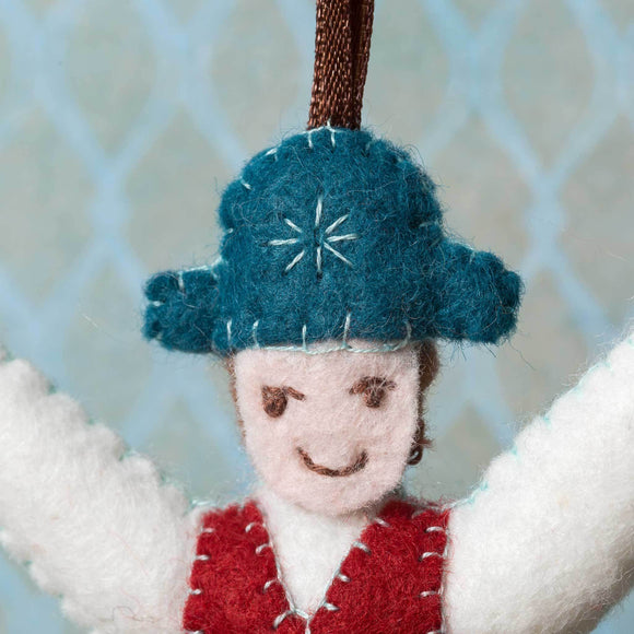 Corinne Lapierre Lord a Leaping from 12 Days of Christmas Felt Craft Kit