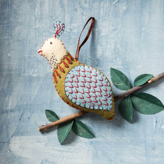 Corinne Lapierre Partridge Felt Craft Kit