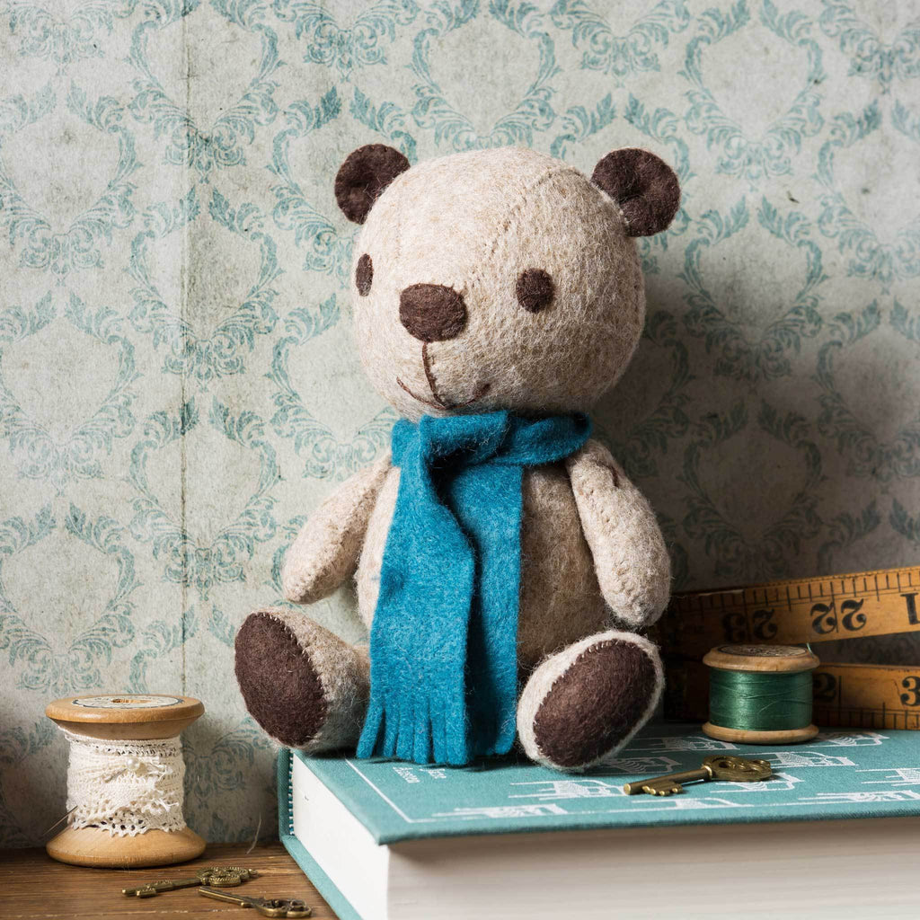 Corinne Lapierre Vintage Teddy Felt Craft Kit