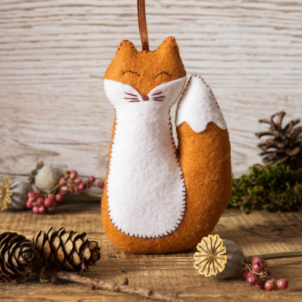 Corinne Lapierre felt fox mini craft kit