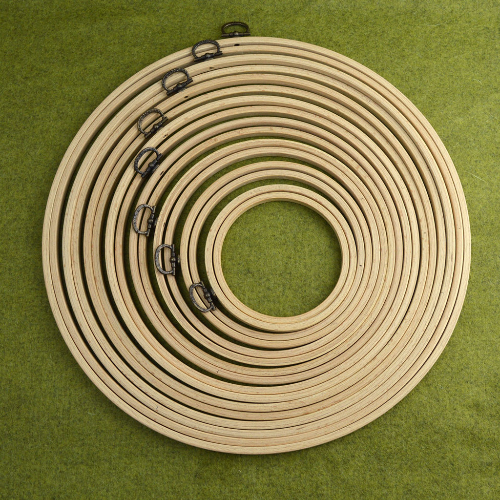 Corinne Lapierre Wooden Frame Embroidery Hoops