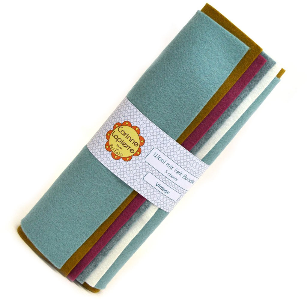 Corinne Lapierre Wool Mix Felt Bundle for Crafting